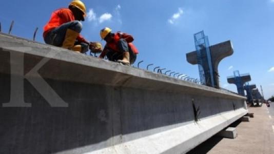 Konstruksi LRT Palembang diklaim sudah 40%