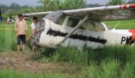 Pesawat jatuh di Sumenep?