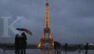 Kecantikan Eiffel kini berbalut kaca anti peluru