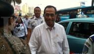 Kesan Menhub setelah naik taksi online ke Bekasi