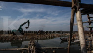 Proyek tanggul di titik kritis Jakarta terkendala